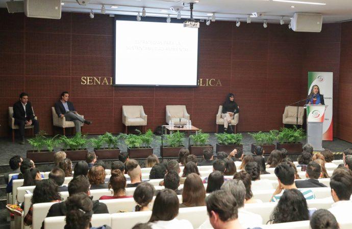 Llaman en el Senado a incorporar la sustentabilidad en las políticas públicas del país