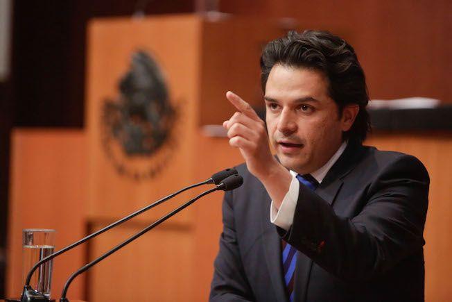 Que la PGR proceda o se desista en el caso Ricardo Anaya; que no se preste para utilizar políticamente este tema: Zoé Robledo