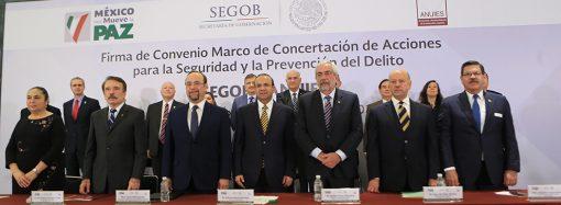 ANUIES y Segob, por la seguridad y la prevención del delito en universidades