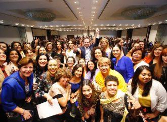 Con las mujeres tomando decisiones vamos a lograr el cambio que México merece: Ricardo Anaya