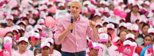 Salario rosa permite tener familias mexiquenses más fuertes: Alfredo del Mazo