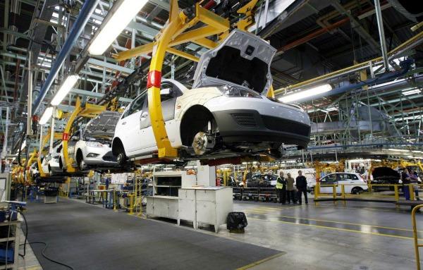 Fabricación de autos en México avanzó 6.2 por ciento anual en febrero
