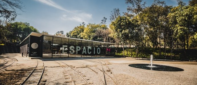 Ferrocarril escénico de Chapultepec: casa del diseño y la arquitectura
