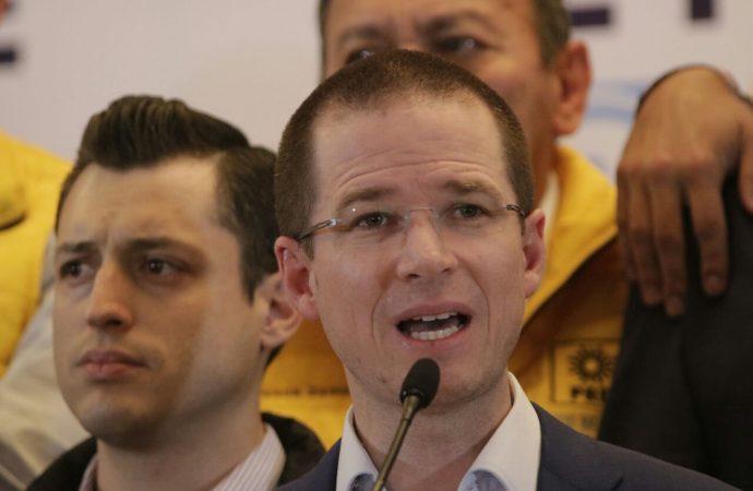 """Ricardo Anaya exige a EPN """"sacar las manos del proceso electoral"""""""