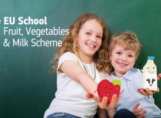 Millones de niños europeos en edad escolar consumen alimentos saludables gracias a un programa de la UE
