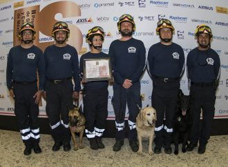 Binomios caninos de la UNAM reciben Premio Nacional de Seguridad Y Emergencias 2018