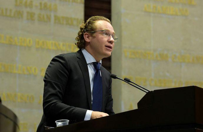 """""""Ni un centímetro de varilla fuera de la ley"""", exige Dip. Santiago Taboada y propone crear la Agencia Nacional de Desarrollo y Política Urbana"""