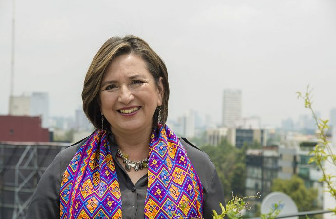 Denuncian vecinos de Polanco a Xóchitl Gálvez por obra no pegada y no ejecutada