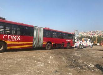 Línea 1 del Metrobús moderniza su flota con biarticulados de tecnología Euro VI