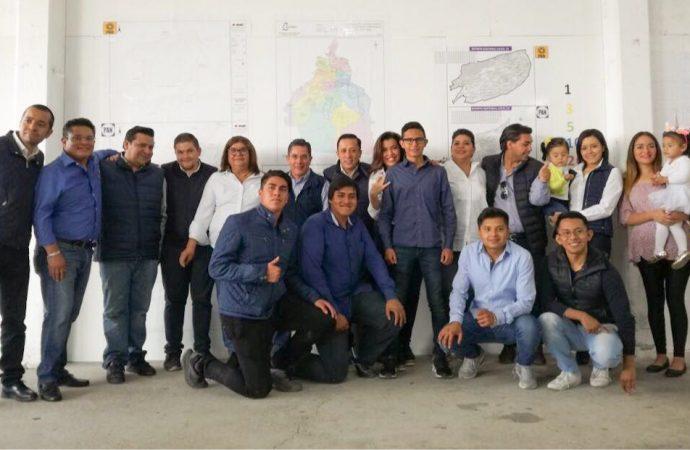 Inicia Amilcar Ganado campaña para la alcaldía de Álvaro Obregón
