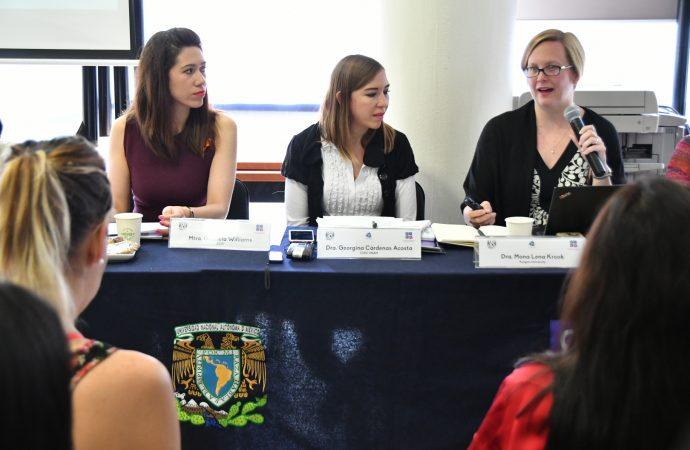 Financiamiento equitativo y acompañamiento partidista hacia las mujeres, elementos indispensables en un proceso con igualdad de condiciones: Gabriela Williams