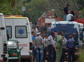 Tres pasajeros lograron sobrevivir al accidente de avión en Cuba