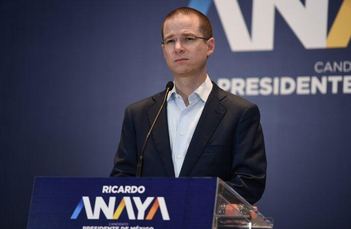 La paz es fruto de la justicia y la justicia no es impunidad: Ricardo Anaya