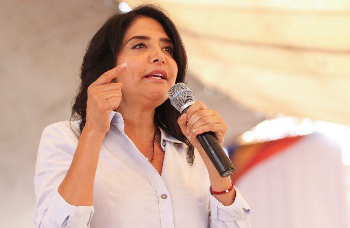 Convertiré al oriente de la capital en polo de desarrollo: Alejandra Barrales