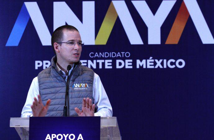 Ricardo Anaya, listo para el segundo debate presidencial en Tijuana