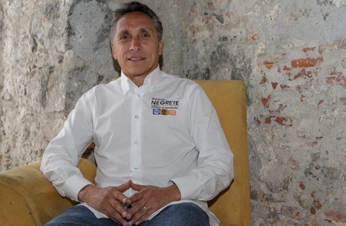 Con la estrategia del futbol, gobernaré Coyoacán: Manuel Negrete