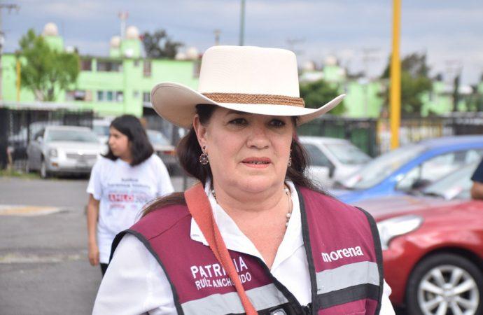 Patricia Ruiz promete gobierno incluyente en Venustiano Carranza