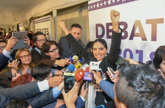 Gana Barrales segundo debate