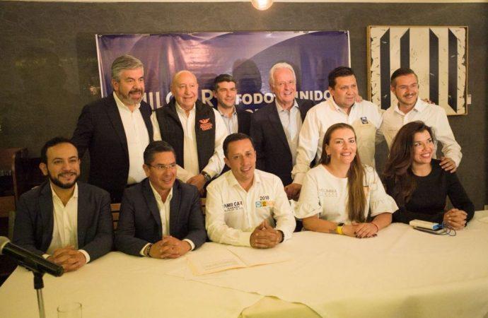 Alejandro Martí y Amílcar Ganado pactan acuerdo por la seguridad en Álvaro Obregón