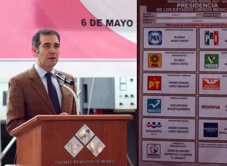 No hay marcha atrás: Anaya, Meade, AMLO, Zavala y Bronco estarán en la boleta electoral