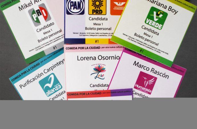 Comienzan preparativos para la comida por CDMX propuesta por Marco Rascón