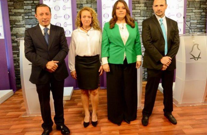 Celebra IECM primer debate entre aspirantes a Alcaldías