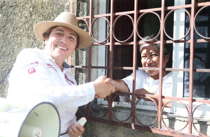Todos los trabajadores de Solidaridad serán apoyados: Laura Beristain