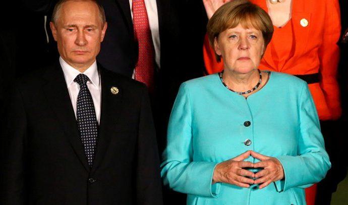 Putin y Merkel reafirman su compromiso con acuerdo nuclear con Irán