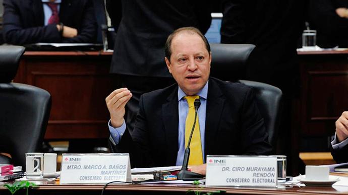 El INE no reimprimirá las boletas electorales: Consejero Baños