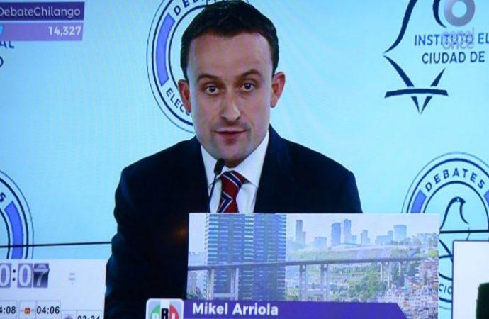 Destapa Mikel Estafa del Siglo por parte de MORENA en la CDMX