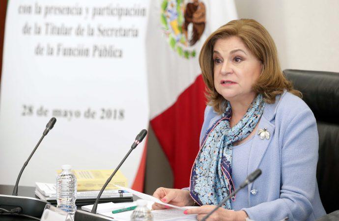 La Función Pública evita corruptelas en Nuevo Aeropuerto de la CDMX: Arely Gómez