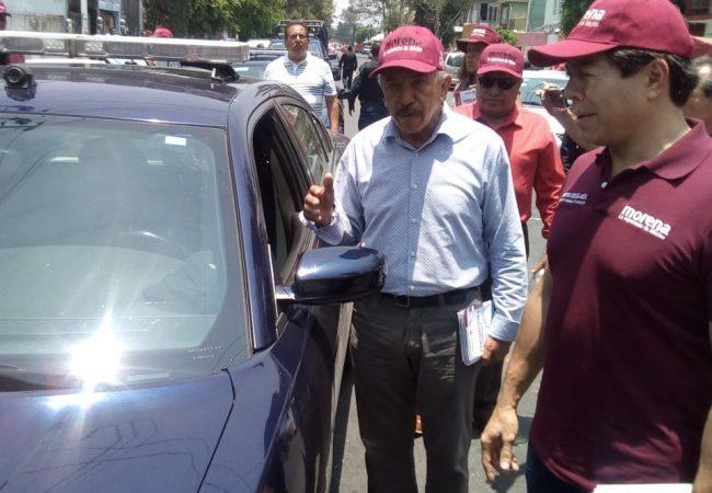 Denuncia Quintero que el GCDMX utiliza a elementos de la policía para frenar a Morena