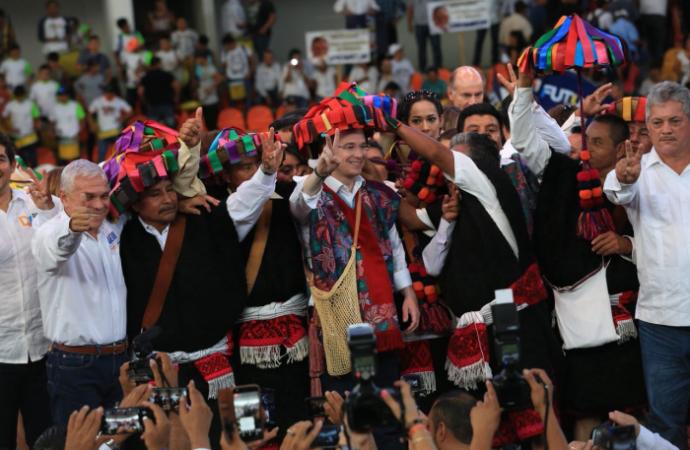 La paz es justicia y felicidad: la vamos a recuperar todos juntos, afirma Ricardo Anaya en Chiapas