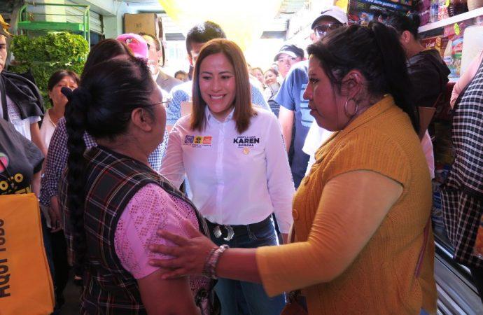 Karen Quiroga garantiza gobierno 'itinerante' en Iztapalapa