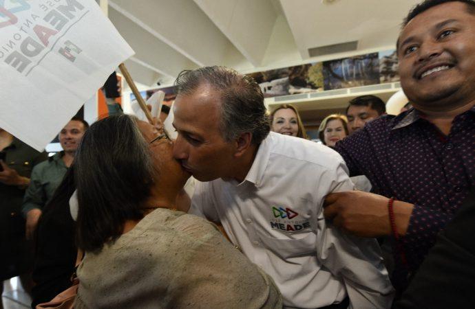 Arranca José Antonio Meade campaña en Ciudad Juárez, Chihuahua