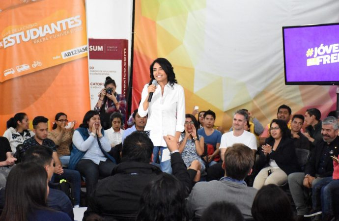 """Compromete Barrales apoyo para """"sueños, libertadas y derechos de los jóvenes"""""""