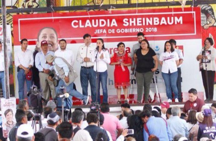 Con Morena, la transformación de México empieza en Iztapalapa; coinciden Claudia Sheinbaum y Clara Brugada