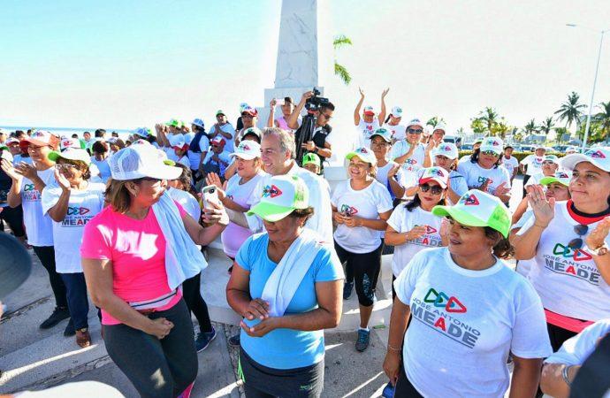 José Antonio Meade recibe calurosa bienvenida en Campeche