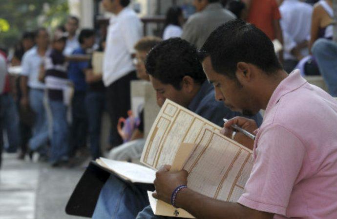 Tasa de desocupación baja a 3.2 por ciento en primer trimestre