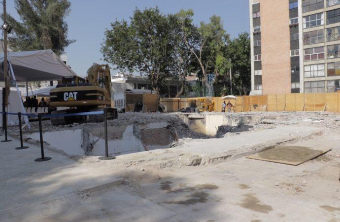 Inicia reconstrucción del predio Osa Mayor