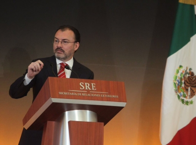 México presentará queja formal a EUA por afirmación de Trump contra migrantes