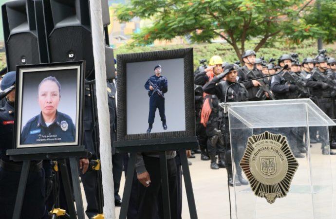 Homicidios contra policías no quedarán impunes