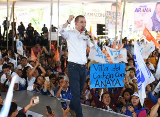 Más de 10 mil personas acompañan a Ricardo Anaya en su cierre de campaña en Nicolás Romero