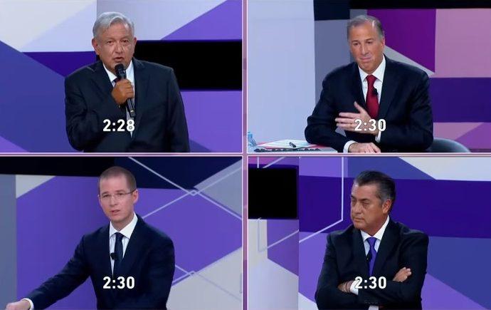 Ricardo Anaya abrirá el tercer debate presidencial