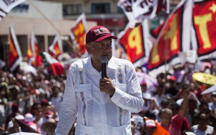 Pide López Obrador al INE agilizar resultados preliminares