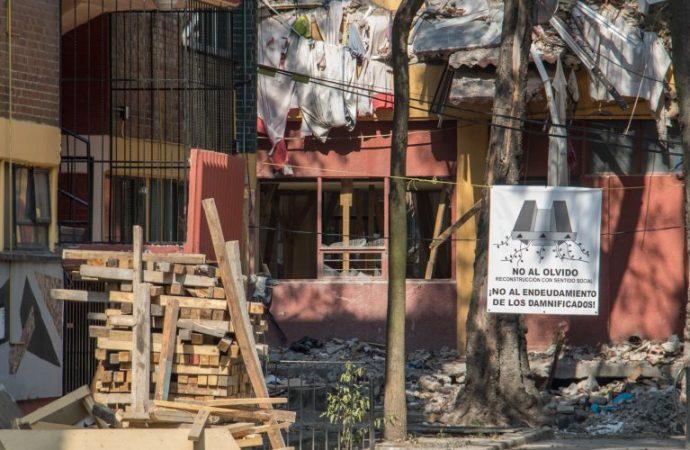 Gobierno de la CDMX condena agresión contra afectados de Multifamilar Tlalpan