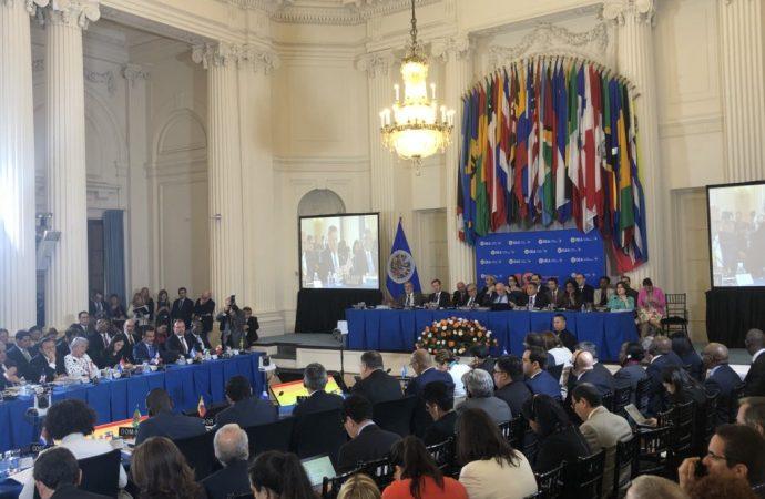 Participa Luis Videgaray en inicio de asamblea de la OEA