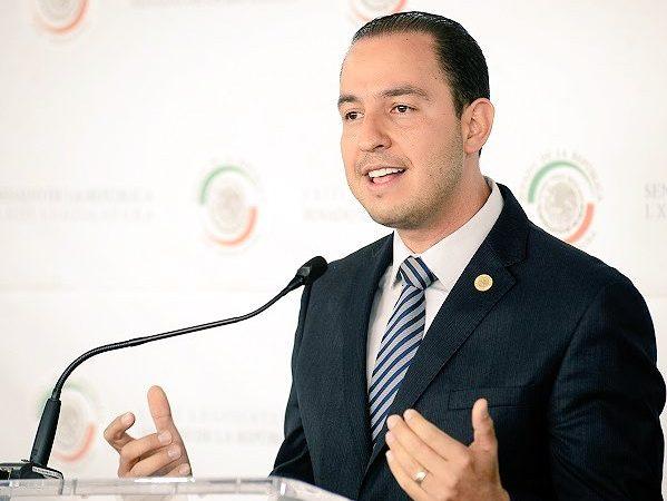AMLO sería tapadera de la corrupción: Marko Cortés