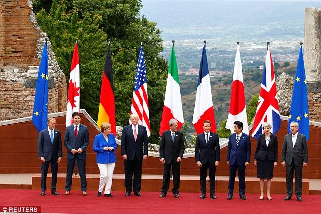 Arranca cumbre del G7 empañada por la guerra comercial desatada por EUA