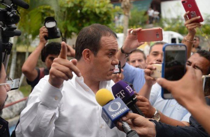 Va Cuau contra todos los corruptos de Morelos